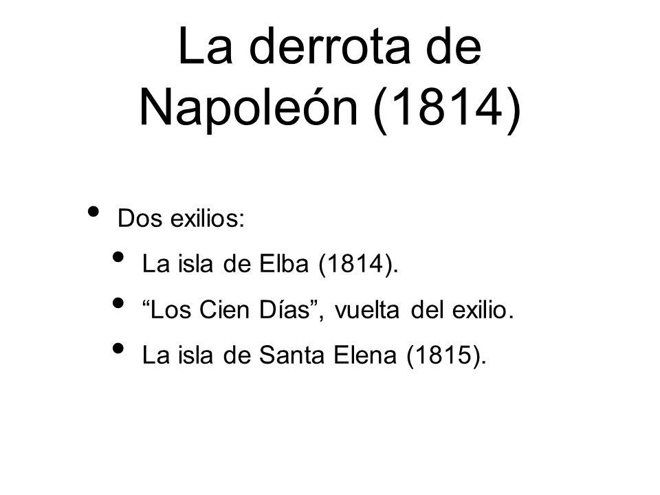 La derrota de Napoleón (1814)
