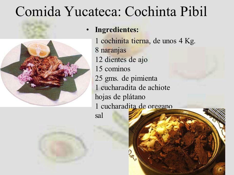 Comida Yucateca: Cochinta Pibil