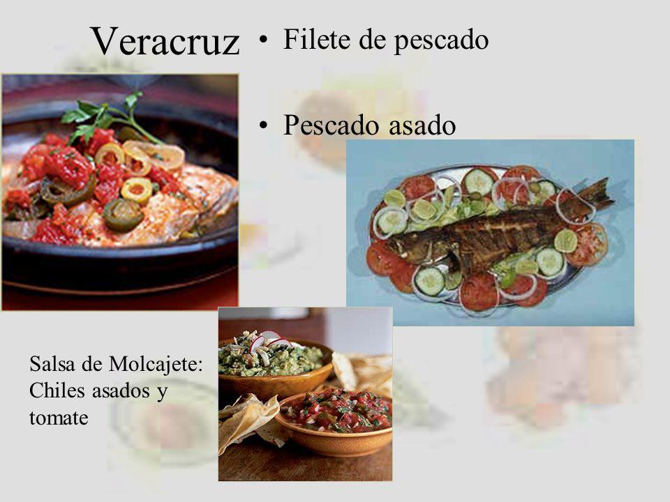 Veracruz Filete de pescado Pescado asado