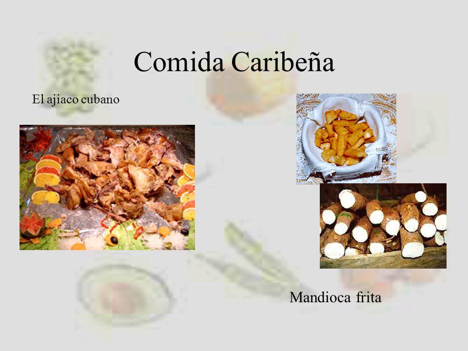 Comida Caribeña El ajiaco cubano Mandioca frita