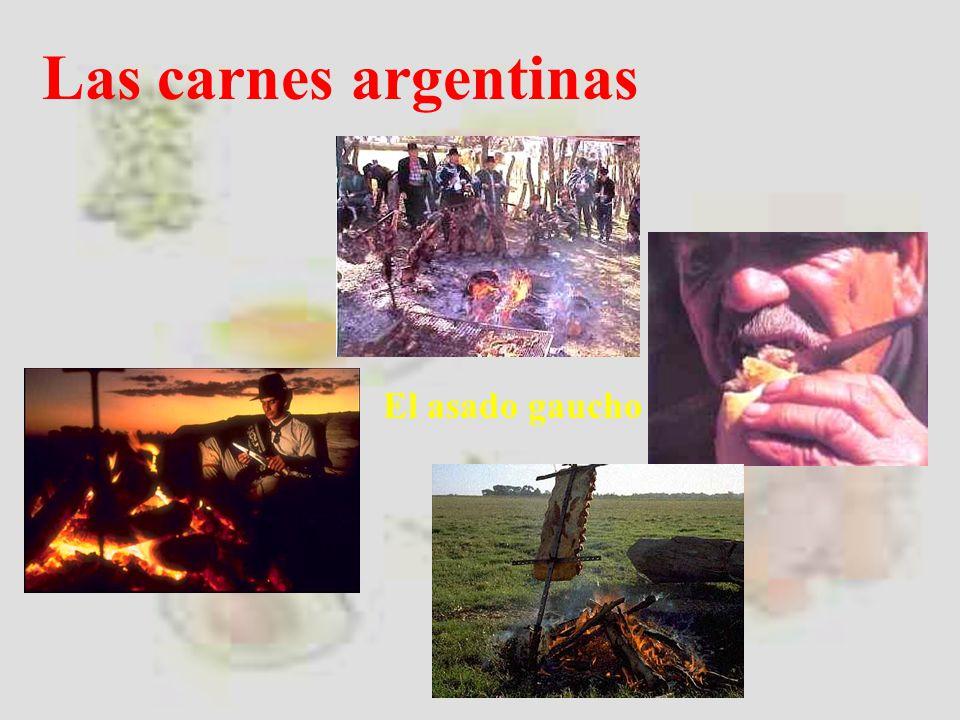Las carnes argentinas El asado gaucho