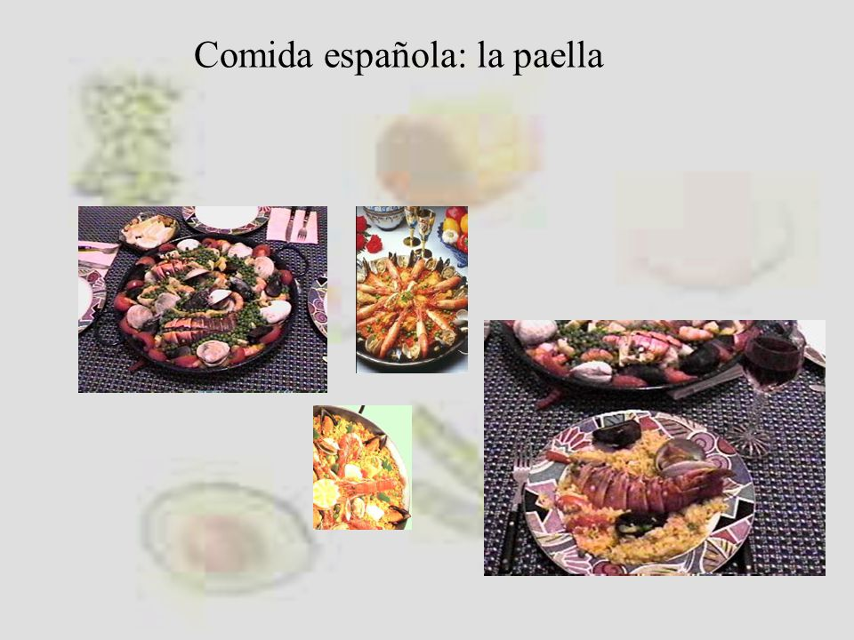 Comida española: la paella