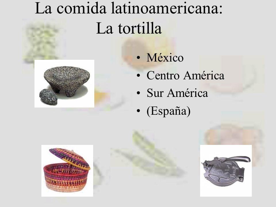 La comida latinoamericana:
