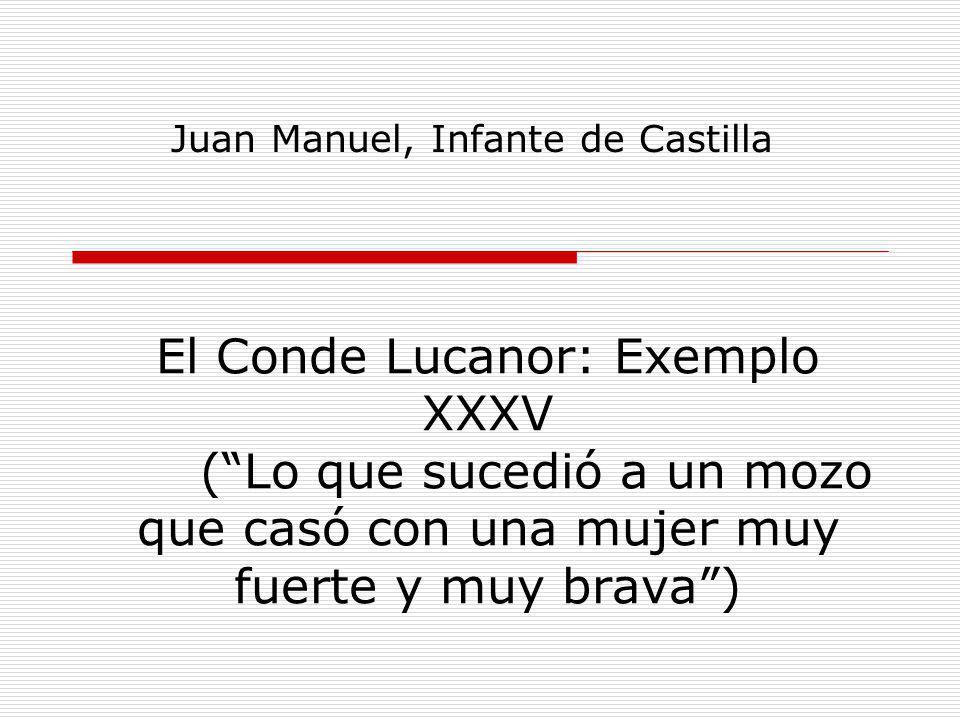 Juan Manuel, Infante de Castilla