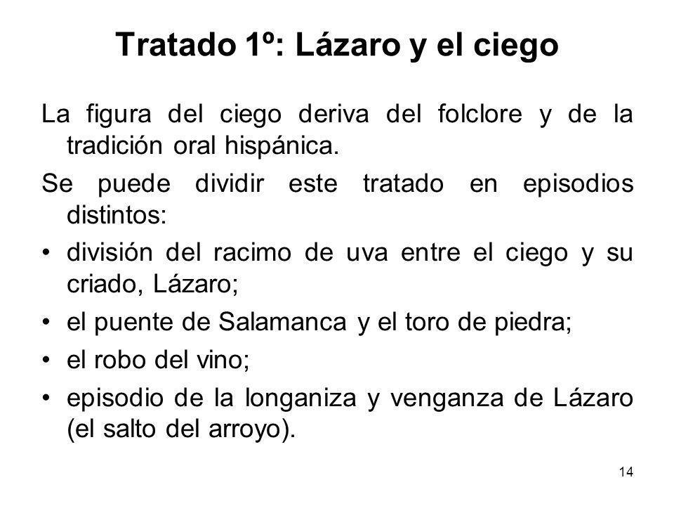 Tratado 1º: Lázaro y el ciego