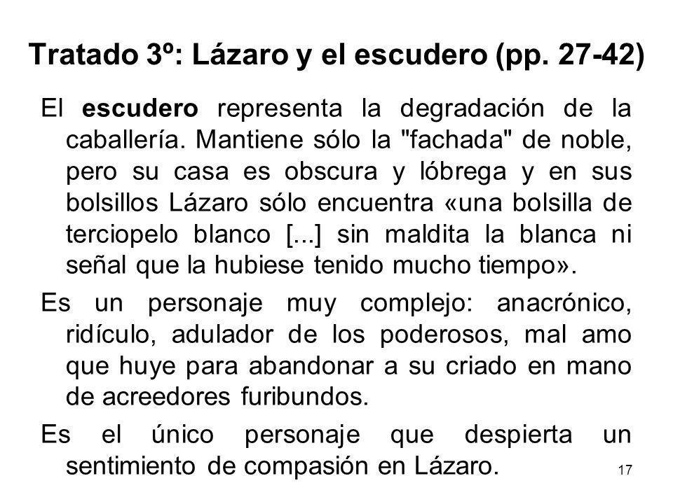 Tratado 3º: Lázaro y el escudero (pp. 27-42)