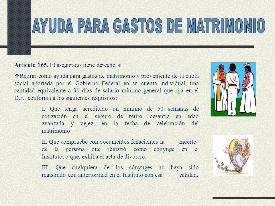 AYUDA PARA GASTOS DE MATRIMONIO