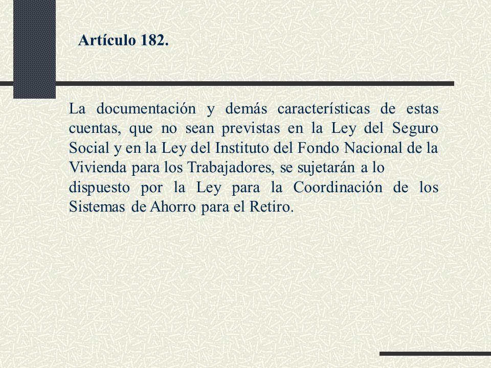 Artículo 182.
