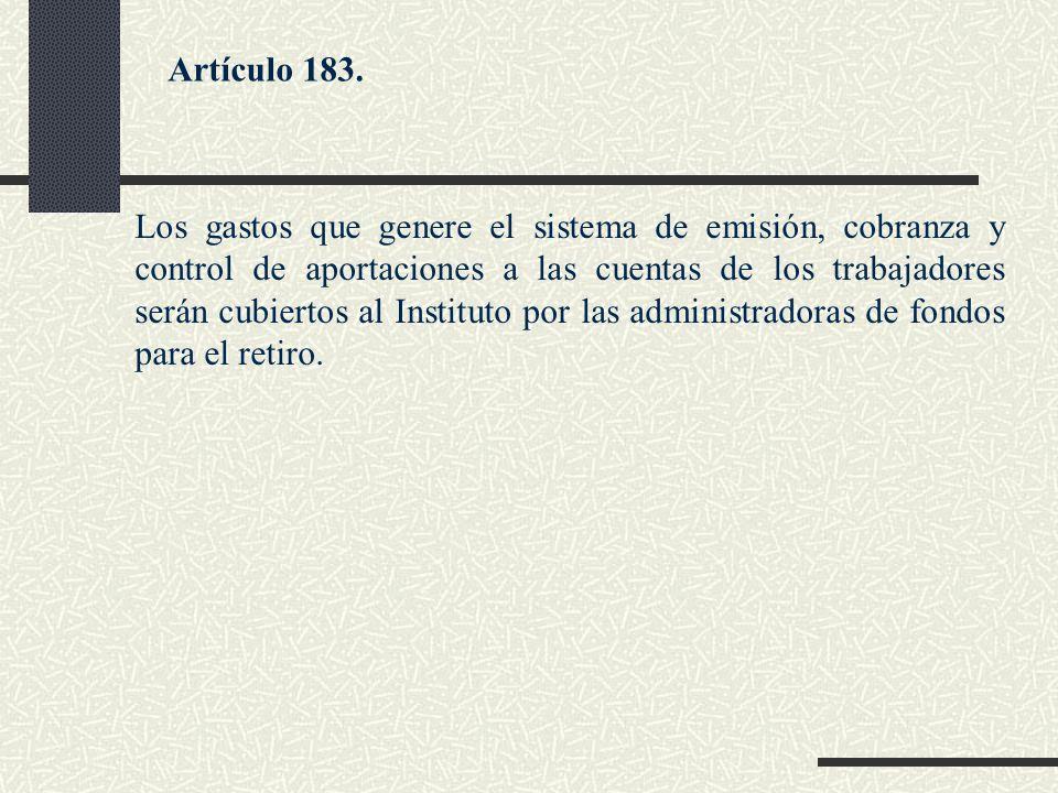 Artículo 183.