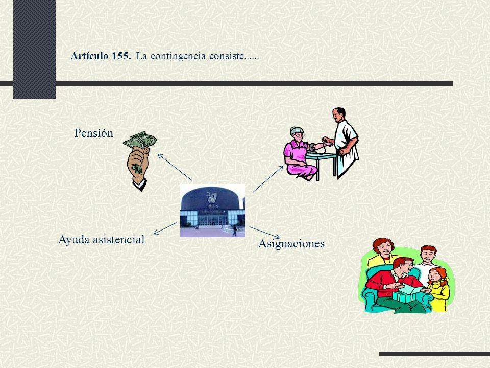 Pensión Ayuda asistencial Asignaciones