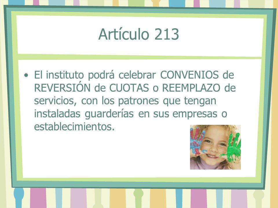 Artículo 213