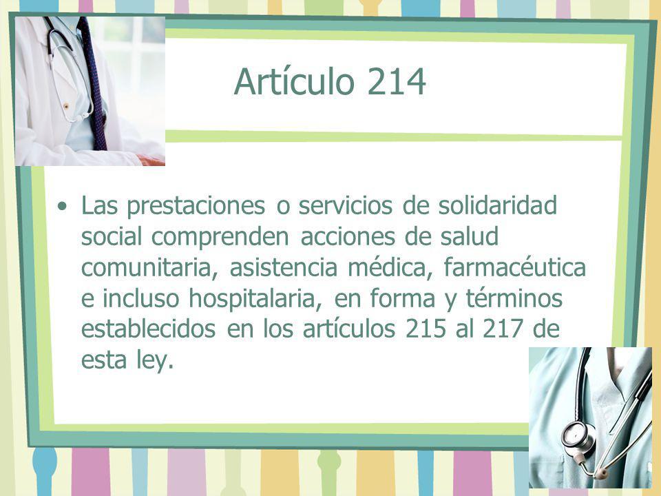 Artículo 214