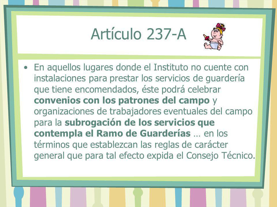 Artículo 237-A