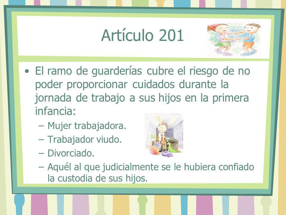 Artículo 201