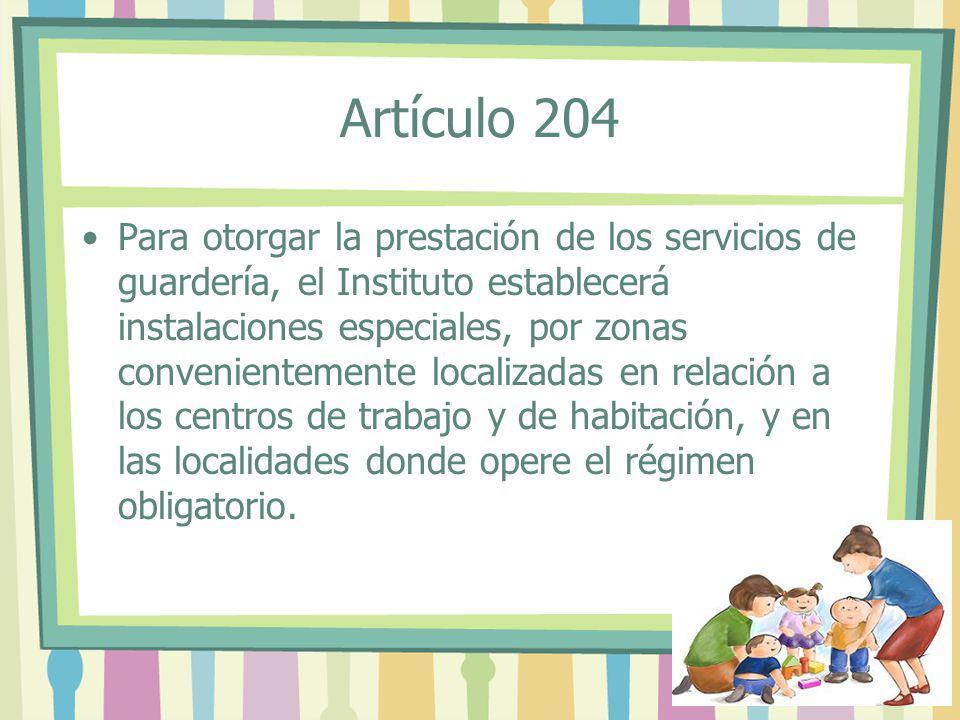 Artículo 204