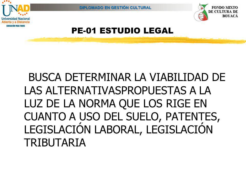 PE-01 ESTUDIO LEGAL