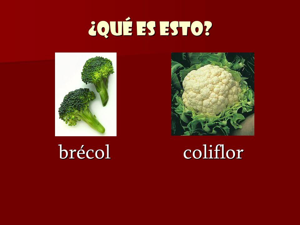 ¿Qué es esto brécol coliflor