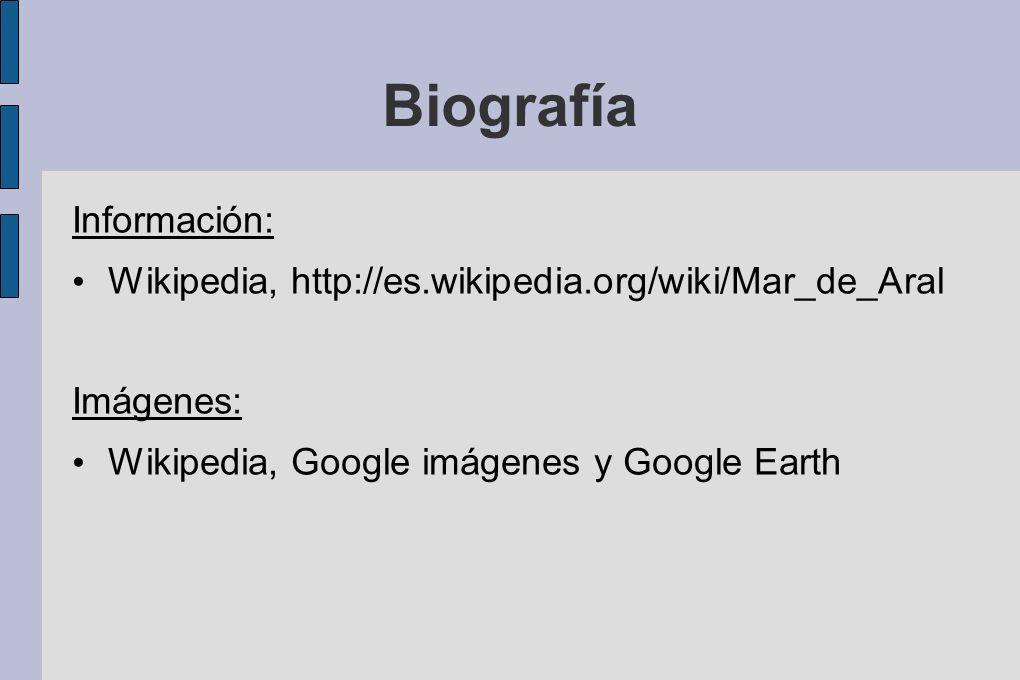 Biografía Información: