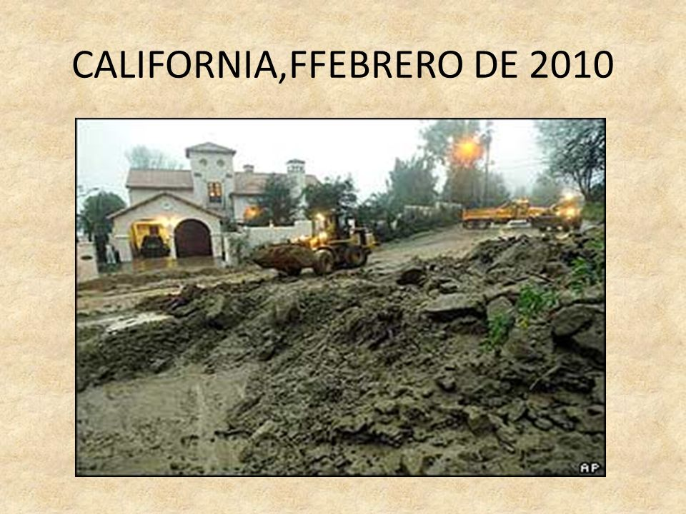CALIFORNIA,FFEBRERO DE 2010