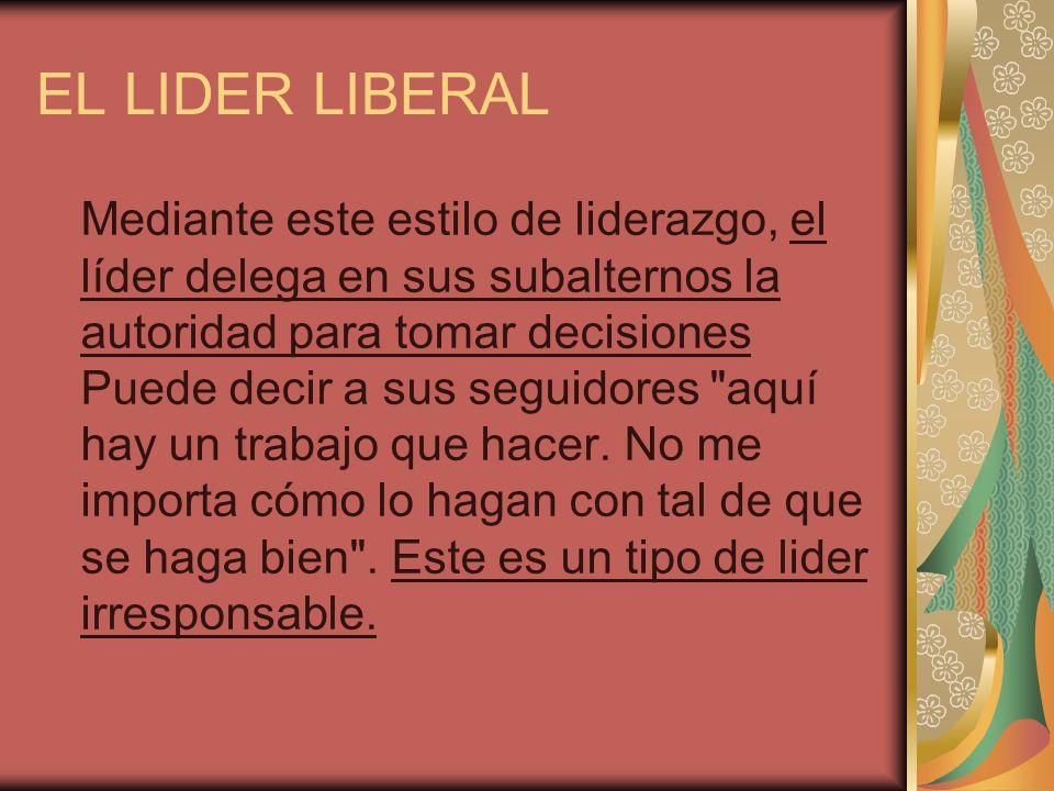 EL LIDER LIBERAL