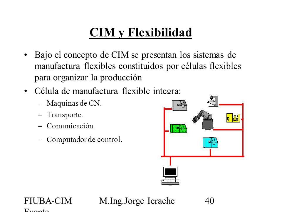 CIM y Flexibilidad
