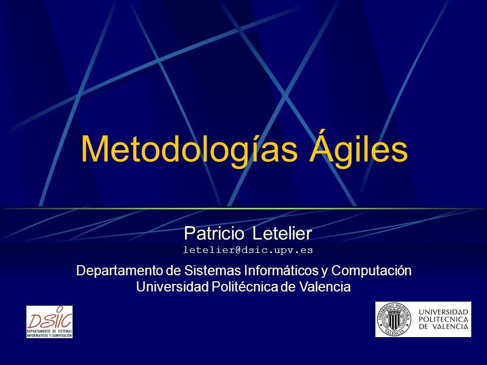 Metodologías Ágiles Patricio Letelier