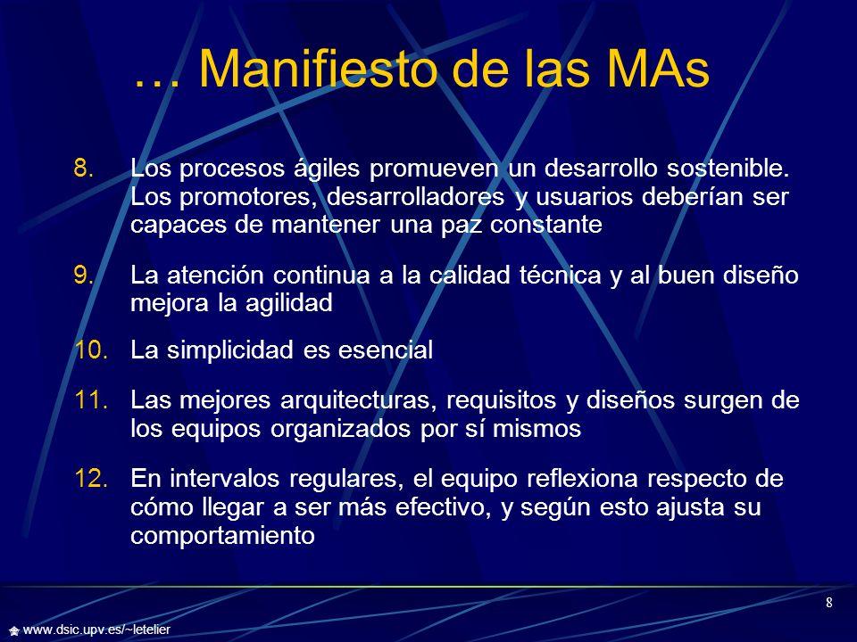 … Manifiesto de las MAs