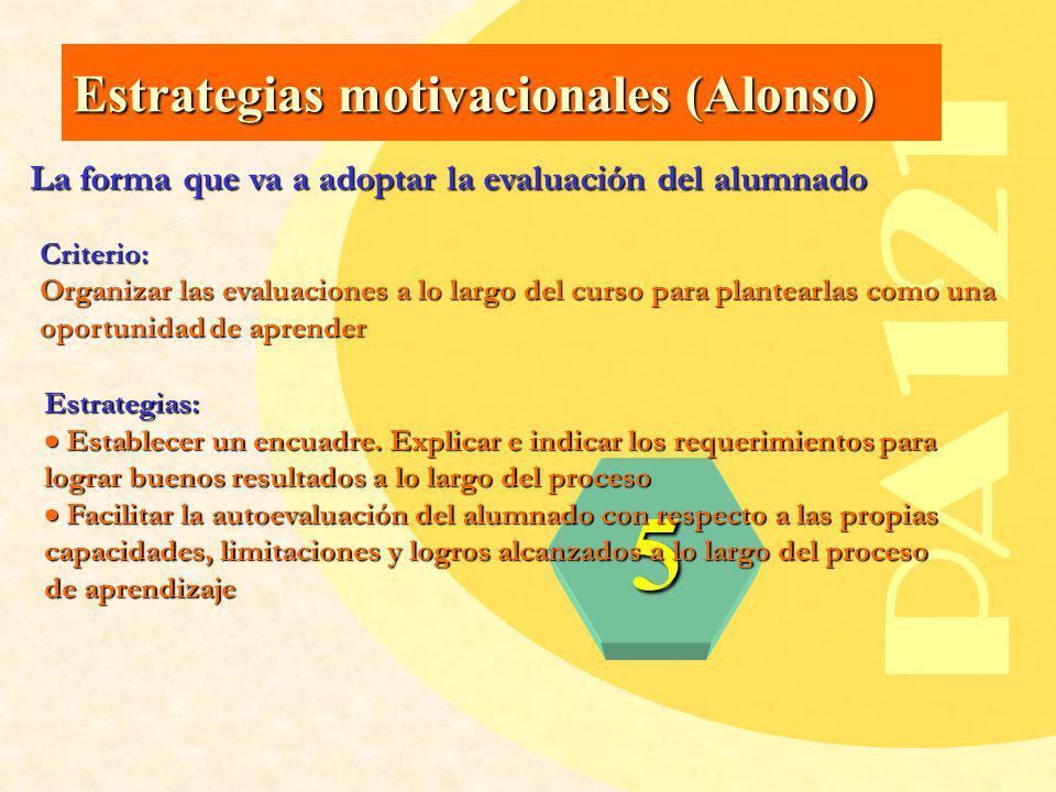 PA121 5 Estrategias motivacionales (Alonso)