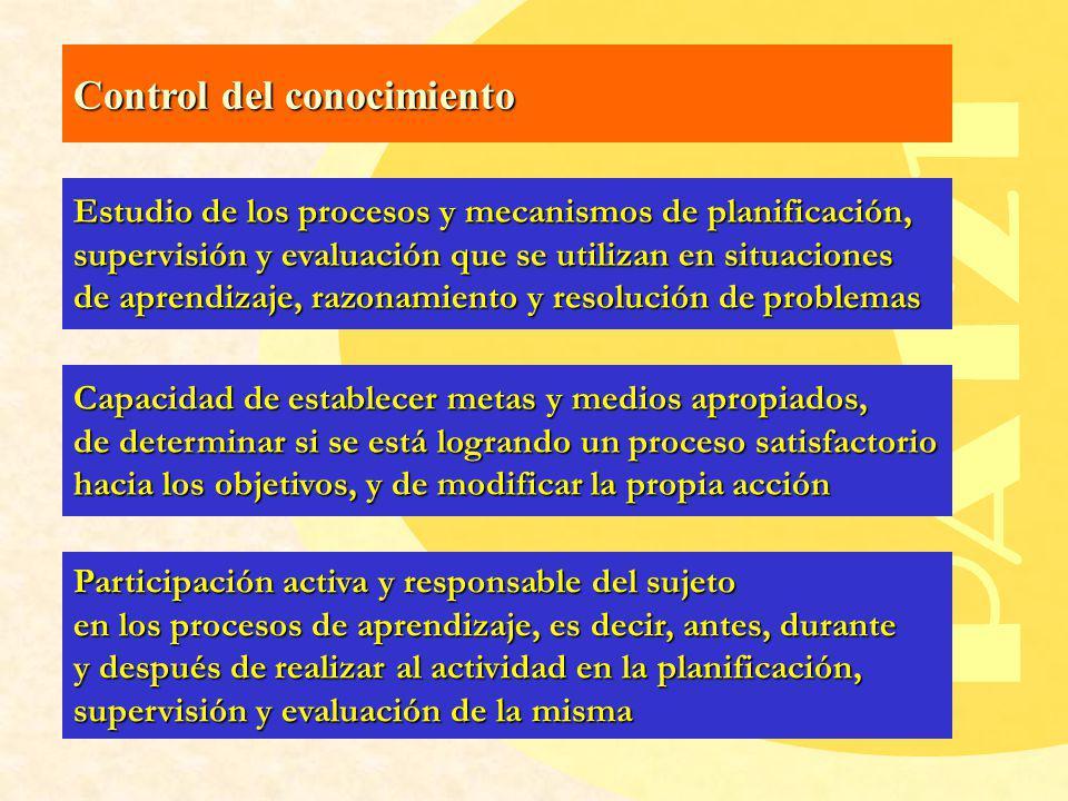 PA121 Control del conocimiento