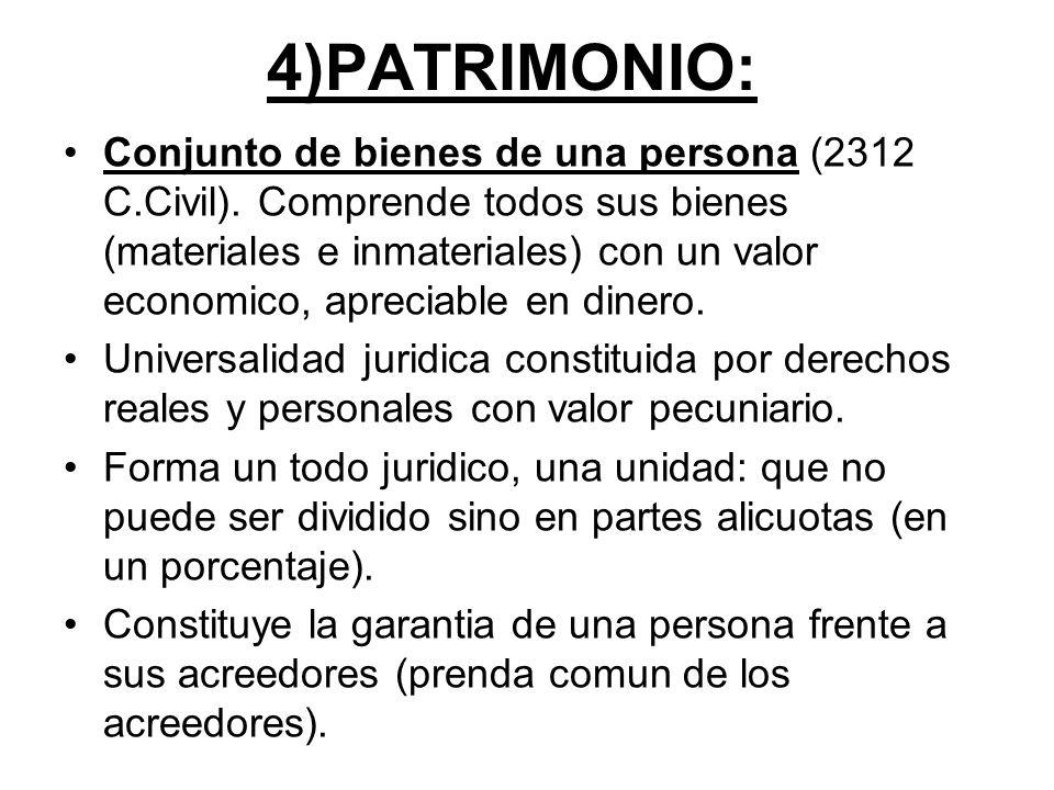 4)PATRIMONIO: