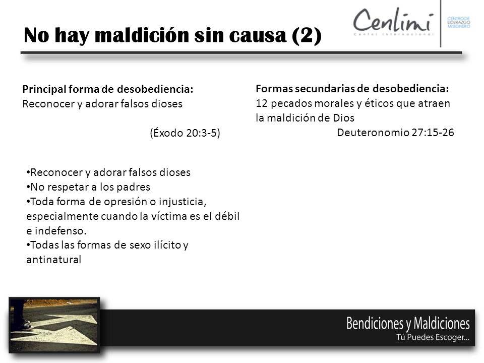 No hay maldición sin causa (2)