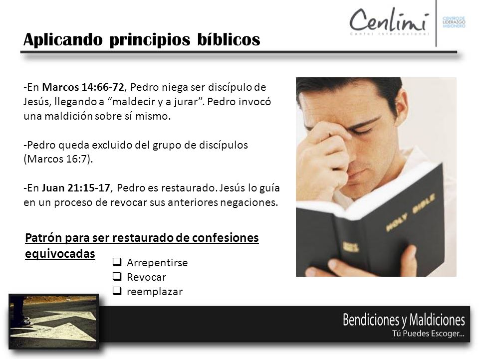 Aplicando principios bíblicos