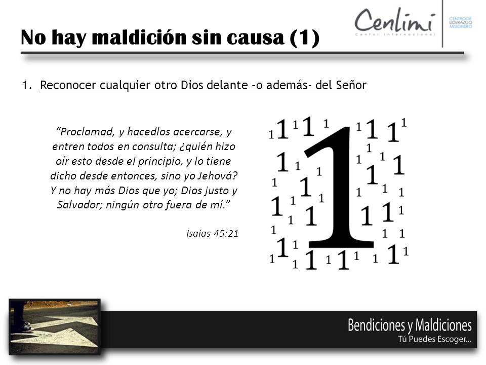 No hay maldición sin causa (1)