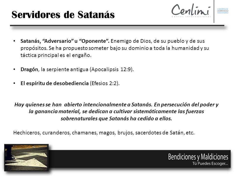 Servidores de Satanás