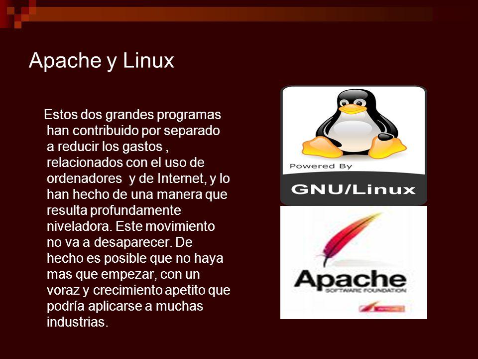 Apache y Linux