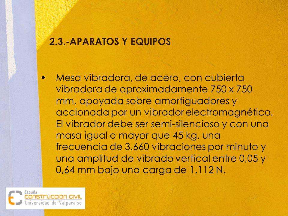 2.3.-APARATOS Y EQUIPOS
