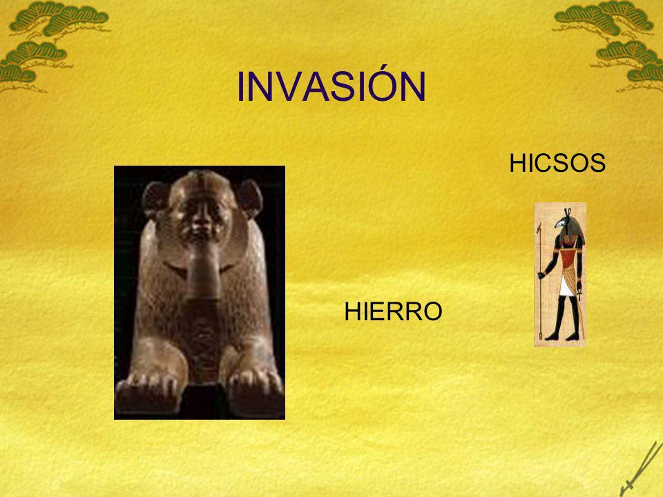 INVASIÓN HICSOS HIERRO