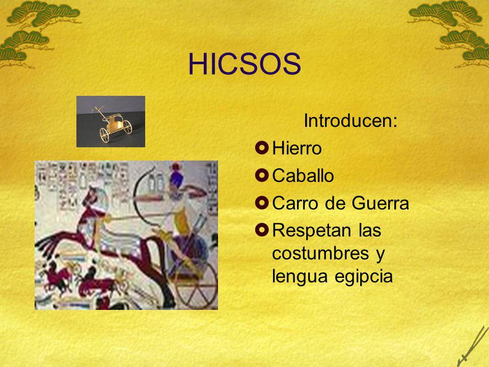 HICSOS Introducen: Hierro Caballo Carro de Guerra
