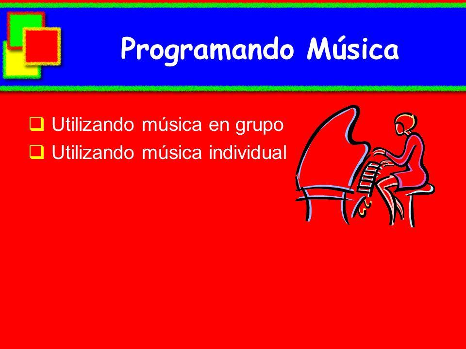 Programando Música Utilizando música en grupo
