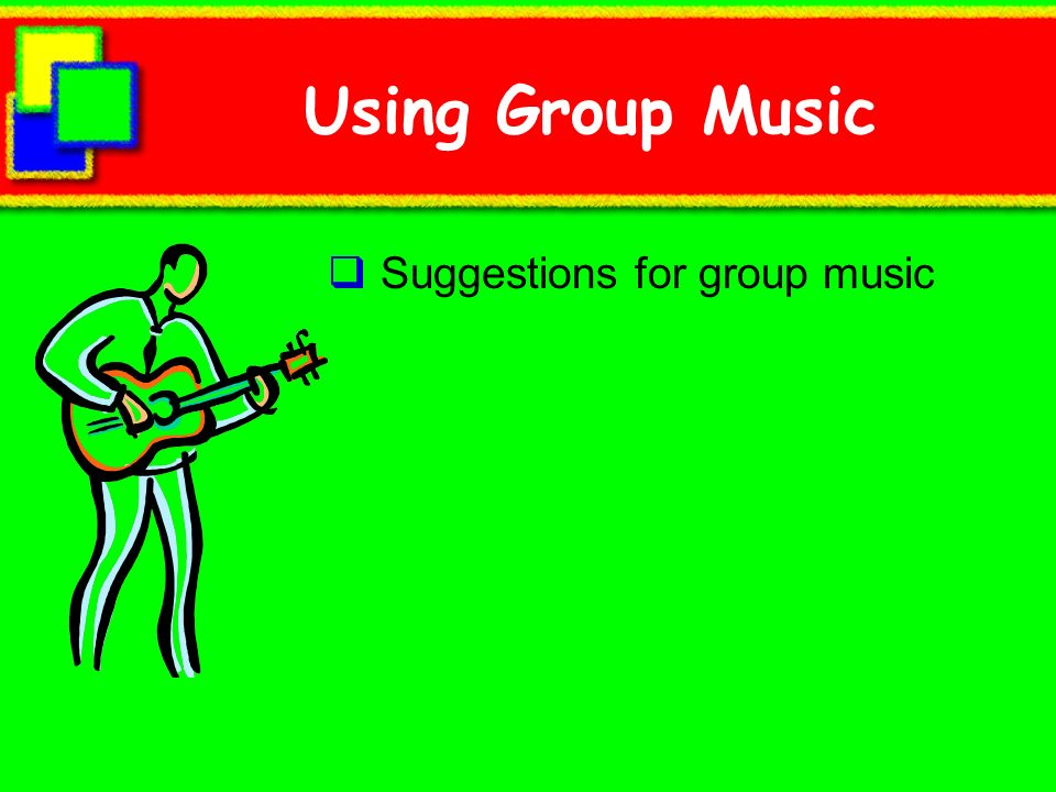 Using Group Music Suggestions for group music