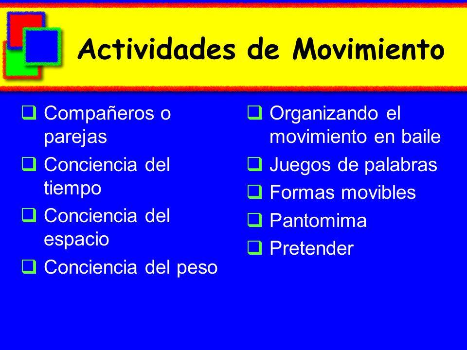 Actividades de Movimiento