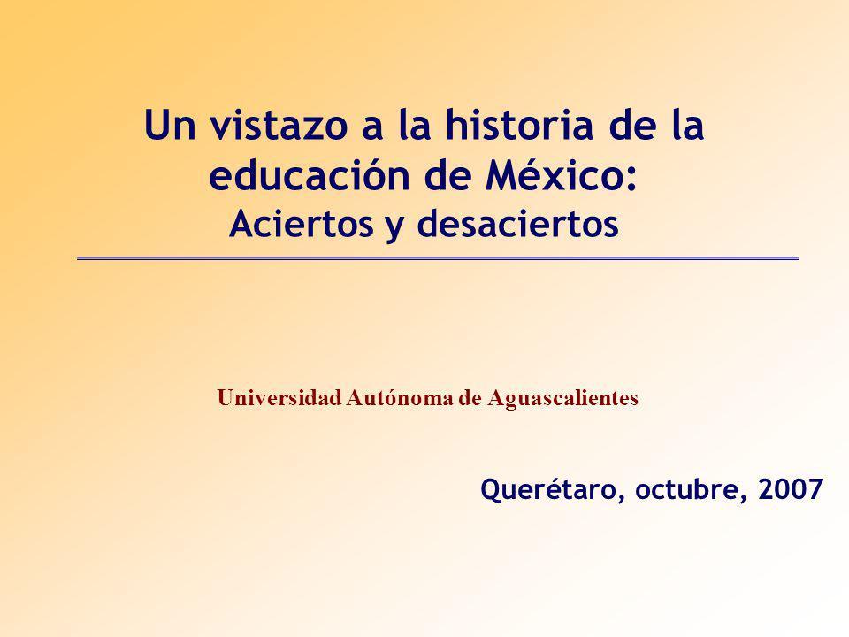 Universidad Autónoma de Aguascalientes Querétaro, octubre, 2007
