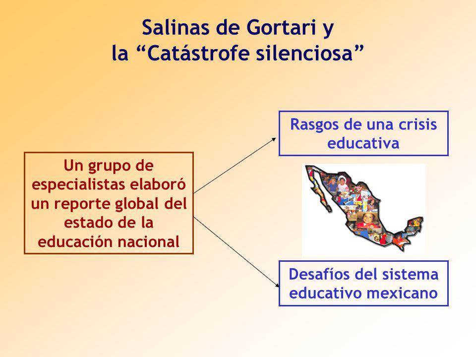 Salinas de Gortari y la Catástrofe silenciosa
