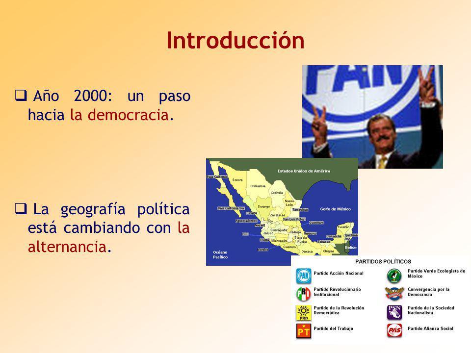 Introducción Año 2000: un paso hacia la democracia.