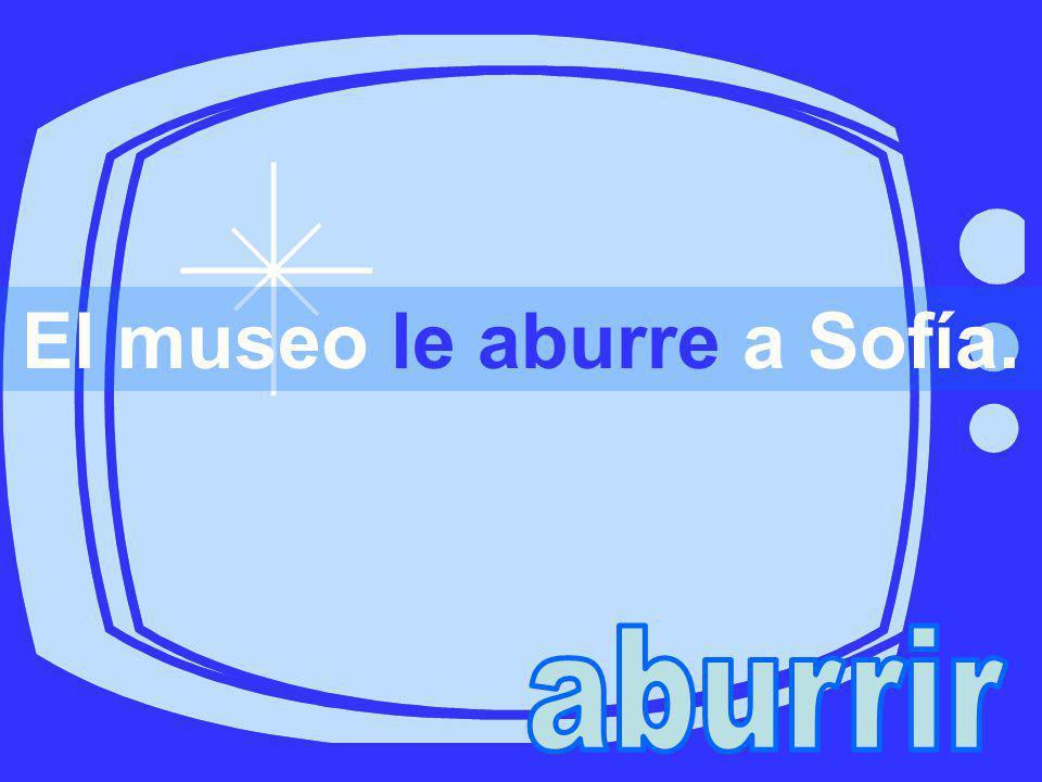 El museo le aburre a Sofía.