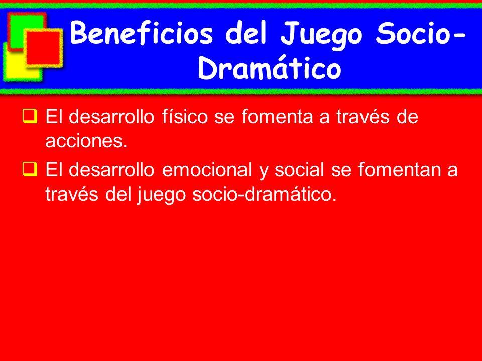 Beneficios del Juego Socio-Dramático