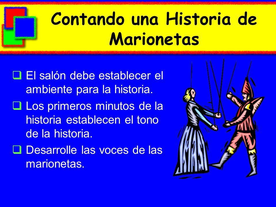 Contando una Historia de Marionetas