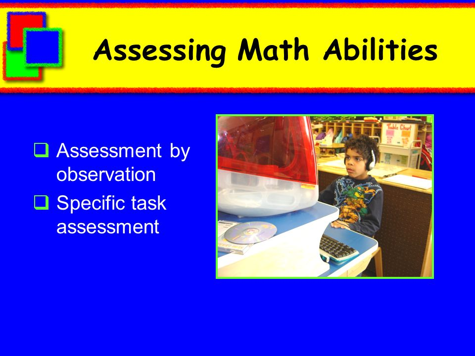 Assessing Math Abilities