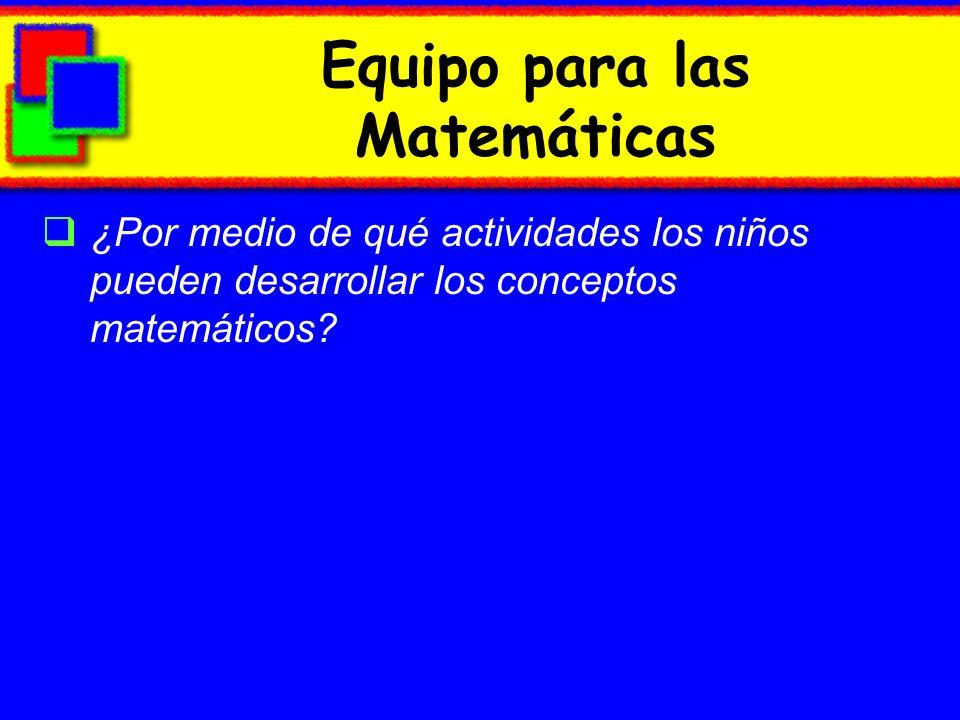 Equipo para las Matemáticas