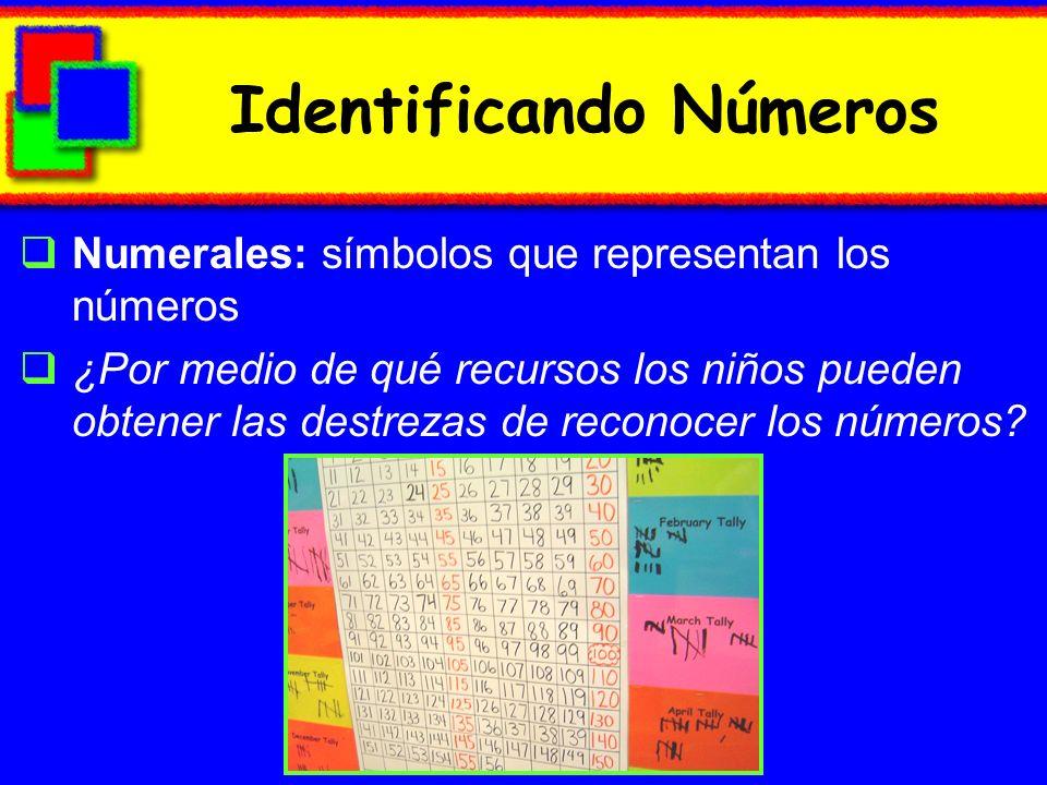 Identificando Números